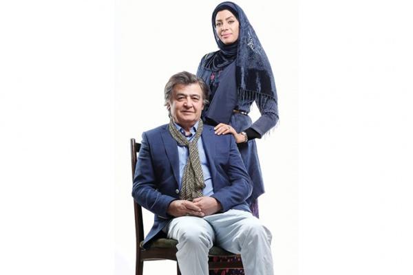 ازدواج بازیگر مشهور ایرانی با دختری 43 سال کوچکتر از خودش +عکس