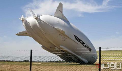 بزرگترین هواپیمای جهان سقوط کرد