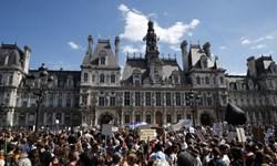 خبرگزاری فارس: تظاهرات دههاهزار نفری ضد دولتی در فرانسه