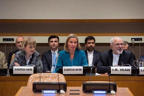 نشست وزرای خارجه ایران و ۱+۴ در مقر سازمان ملل در نیویورک+بیانیه پایانی