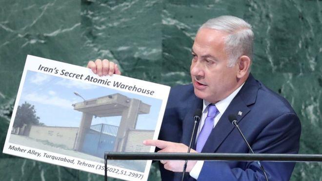 نتانیاهو به خاطر رفتارهای عجیب خود در سخنرانیهایش ضد ایران مضحکه شده است