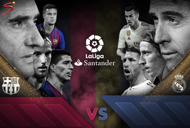 بارسلونا - رئال مادرید/نبرد کلاسیک بدون ستاره های فرازمینی
