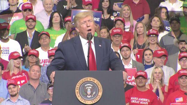 ترامپ رقابت انتخاباتی 2020 را با حمله به دموکرات ها آغاز کرد