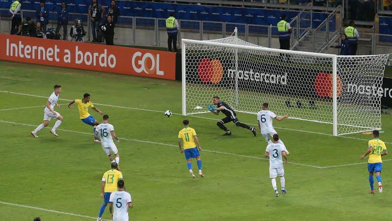 برزیل ۱ - آرژانتین ۰ / گزارش لحظه به لحظه