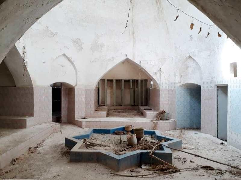 حمام تاریخی کزمان استهبان، بازسازی و موزه میشود
