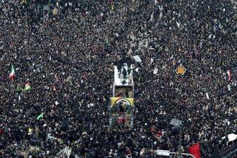 پخش زنده مراسم وداع با «سردار» در اسپوتنیک