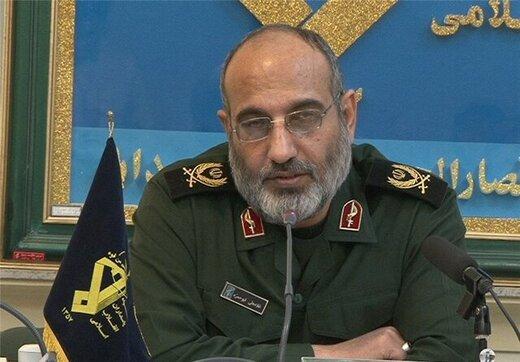 هشدار سردار ابوحمزه به آمریکاییها: ۳۵ نقطه از مواضع حیاتیتان در تیررس ما قرار دارند/ قطعاً و یقیناً تقاص خواهید داد