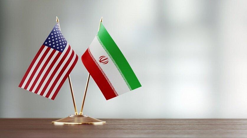 ایران - آمریکا - پرچم