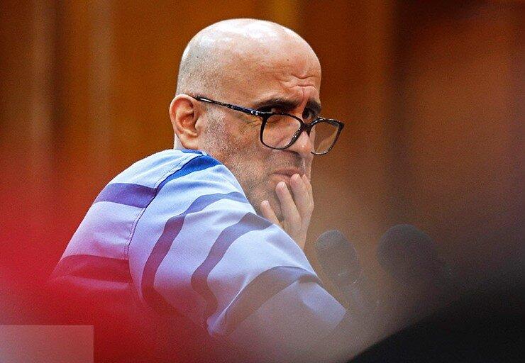 تصاویر دادگاه ششم اکبر طبری