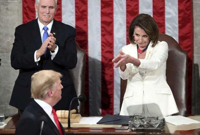 اعتراف ترامپ به زانو درآمدن در برابر دموکراتها